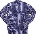Fristads Katoenen overhemd 431 VL_Blauw/wit