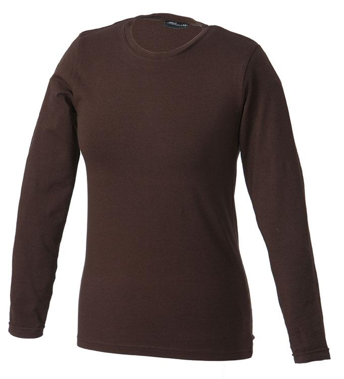 T-Shirt Tangy-T Long-Sleeved Bruin