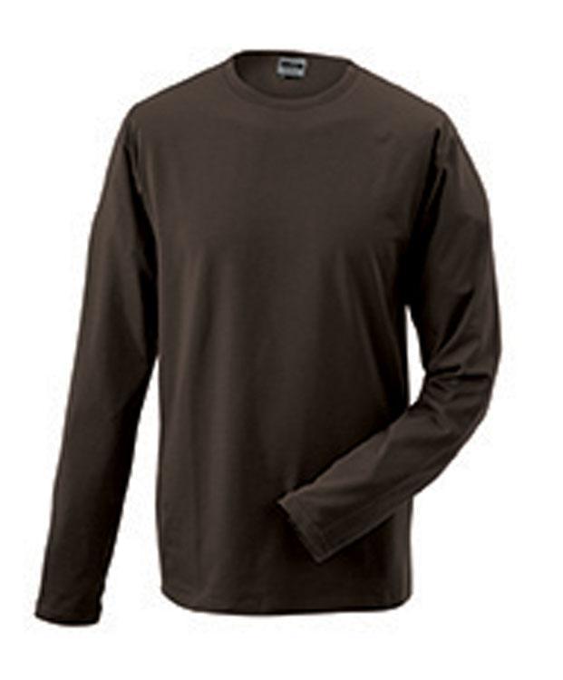 T-Shirt Elastic-T Long-Sleeved Bruin