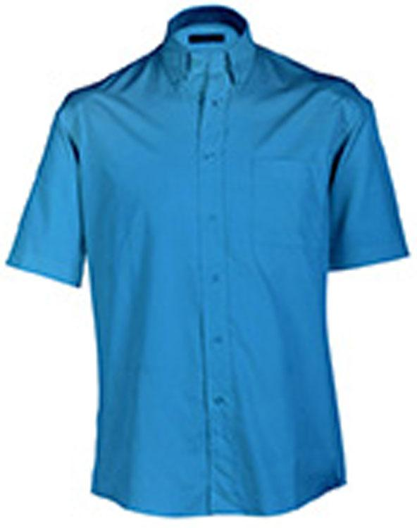 Hemden/Blusen Buttondown Shirt Short Blauw