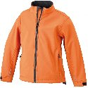 Jacken Softshell Jacket Junior Pop-Oranje