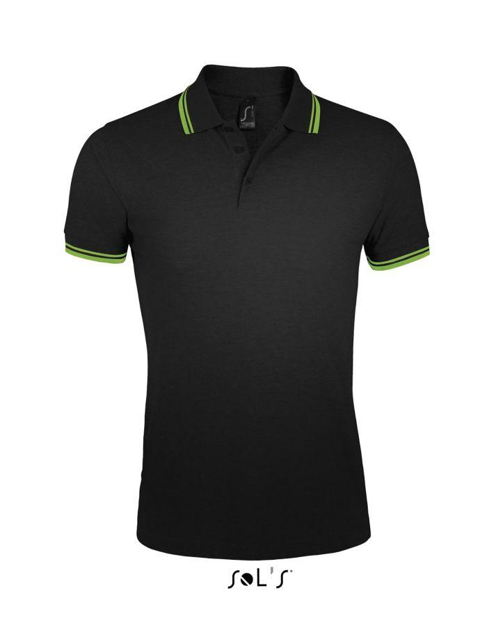Polo Pasadena Men Black/Lime